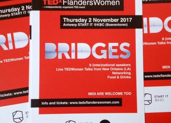 TEDxFlandersWomen Bridges event 2017